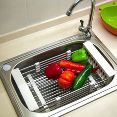 Large Dish and Produce Drainer