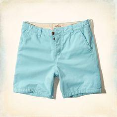 Guys Hollister Beach Prep Fit Shorts