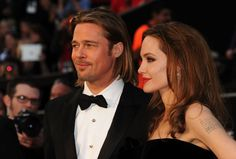 #Oscar #Oscars Brad e Angie (red carpet)