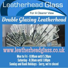 Glass Suppliers, Bank Holiday