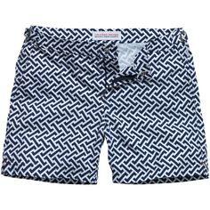 Orlebar Brown Bulldog Short in Geometric Print  Shorts Traje De Baño Hombre e4916360226