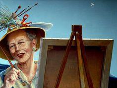 Tillykke til hendes Majestæt Dronning Margrethe II