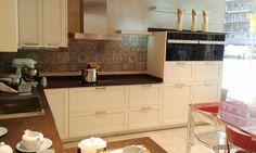 Diseño de #cocina de nuestro cliente El Corte Inglès Diagonal (Barcelona) con campana Pando P-825