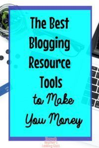 I have learned about and use many different tools over the years to help me grow my blog and make money blogging. Click here for my resource list to help you monetize your blog and make passive income