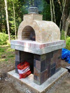 the tildsley family wood fired diy brick pizza oven in massachusetts