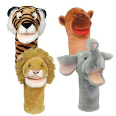 Bigmouth Zoo Puppets