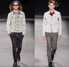 TNG 2014 Winter Southern Hemisphere Mens Runway Collection - Fashion Rio Brazil Moda Brasileira - Inverno 2014 Homens Desfiles - Punk Grunge...