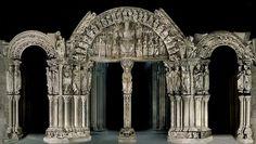 El Pórtico de la Gloria de la #Catedral de #Santiago de #Compostela, #Galicia #PorticodelaGloria