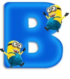 Minions Birthday Theme, Minion Party, Alphabet Letters Design, Alphabet Art, Minion Invitation, Easter Garden, Minnie Png, Minion Pictures, Teaching The Alphabet
