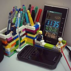 My lego pencil holder