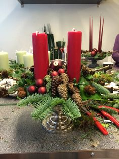 foto-19-e1385452858679 Advent Candles, Christmas Wreaths, Christmas Ideas, Table Decorations, Holiday Decor, Crafts, Diy, Craft Ideas, Home Decor
