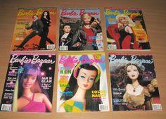 LOT 6 Barbie Bazaar Magazines February April August October December 2000 2001 | eBay