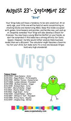 Virgo Baby Onesie Gift Box Horoscope