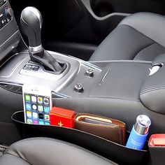 Leather Car iPocket Organizer (2 Pack) https://caripocket.com/products/car-ipocket