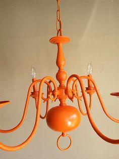 Orange Shade Chandeliers Pinterest Contemporary Pendant Lights Lighting And