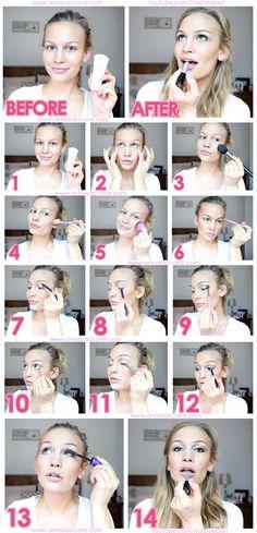 Anna Saccone Everyday Makeup Tutorial