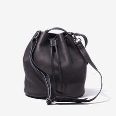 BUCKET BAG - SLATE