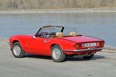 1970-1974 TRIUMPH SPITFIRE MK lV - designed by Giovanni Michelotti of Turin.