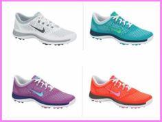 vanira lodge tahiti - Nike Women's Golf Shoe Lunar Bruin 002 Gray/Pink from @golfskipin ...