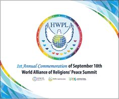 Declaration of Peace and Cessation of War by HWPL      …