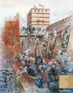 Siège de Constantinople par les Avars en 626
