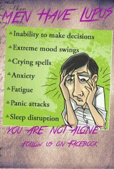 #MenHaveLupus on fb Inflammatory Arthritis, Psoriatic Arthritis, Mood Swings, Autoimmune Disease, Crying, Anxiety, Memes, School, Meme