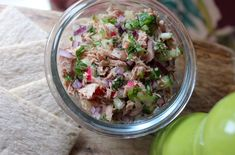 Clean Eating Rainbow Tuna Salad      The Kitchen Shed
