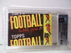 1961 Topps 1 Cent Football Wax Pack GAI NM-MT+ 8.5 NFL Cards Rare #NFLCollectibles
