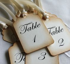Items similar to Wedding Table Number Cards - Wedding Escort Cards - Table Number Cards - Wedding Place Tags on Etsy Wedding Table Flowers, Wedding Table Numbers, Wedding Reception, Wedding Fun, Blue Wedding, Wedding Stuff, Dream Wedding, Wedding Ideas, Wedding Places