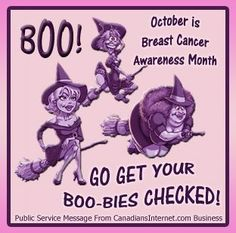 Breast Cancer Awareness Month 10-2-14