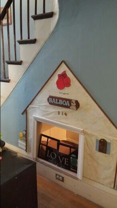 Built In Dog House Under Stairs Favorite Places & Spaces
