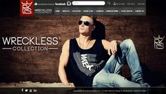 WRECKLESS COLLECTION new Swedish brand with all stylish and glamorous Dresses Collection. we created the fashion brand Wreckless to make a lifestyle not one but for all kind of personalities. Visit: getwreckless.com/    Developed by: Interactive Media. www.imedia.com.pk