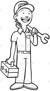 car repair mechanic colouring pages | coloring pages ...