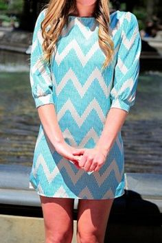 Martha Chevron Dress $37.50 use the COUPON CODE 'rachelcamp' for 5% off every order!! http://www.escloset.com/idevaffiliate/idevaffiliate.php?id=115=53