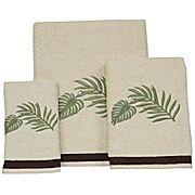 Rattan Palm Decorative Bath Towels