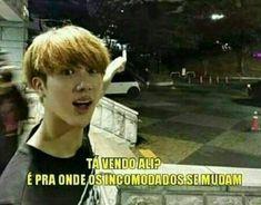 New Memes Bts Portugues 2017 Ideas Bts Memes, Namjin, Btob, K Pop, Memes In Real Life, Friend Memes, Relationship Memes, Worldwide Handsome, Work Humor