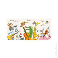 Tableau music x 78 cm) Kiki Le Singe, Art Fantaisiste, Deco Originale, Decoration Originale, Whimsical Art, Paper Dolls, Diagram, Wall Decor, Clip Art