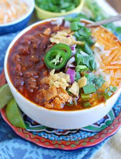 Easy Instant Pot Beef Chili is a nice game day chili packed with lean Certified Angus ground beef, rich, warm spices, beans and vegetables. Everything cooks in one pot and creates a nice freezer meal. Chili Recipes, Crockpot Recipes, Soup Recipes, Easy Recipes, Recipies, Vegan Recipes, Dinner Recipes, Cooking Recipes, Pressure Cooker Chili