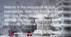 Image result for da vinci nature the mistress of all the masters quotes