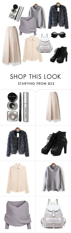 """maxi skirt outfit"" by wooxmen on Polyvore featuring мода, Bobbi Brown Cosmetics, Alice + Olivia и Chloé"