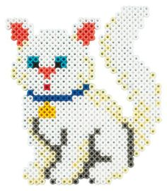 Cat hama beads - Hama 3137 kit