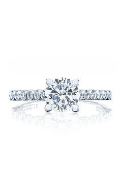 Fashionable rings.  #Tacori #engagement #rings