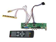 >> Click to Buy << LA.MV56U.A New Universal HDMI USB AV VGA ATV PC LCD Controller Board for 15.6inch 1920x1080 B156HW01 LED LVDS Monitor Kit #Affiliate