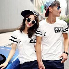 Buy 'Evolu – Short-Sleeve Printed Couple T-Shirt' with Free International Shipping at YesStyle.com. Browse and shop for thousands of Asian fashion items from China and more!