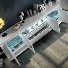 Aparadores de Diseño © Modernos y Clásicos【 100% CALIDAD 】 Modern Furniture Online, Dining Table, Room Decor, Console, Houses, Draping, Decorating Rooms, Flats, Credenzas