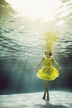 Portraits of Kids Submerged Underwater by Alix Martinez 8