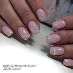 Pin by Nadine Heiser on Nageldesign Simple Acrylic Nails, Acrylic Nail Shapes, Pink Acrylic Nails, Almond Acrylic Nails, Shellac Nails, Acrylic Nail Designs, Nail Manicure, Pink Nails, Nail Art Designs