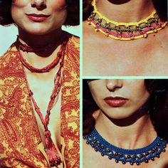 Vintage Crocheted Jewelry