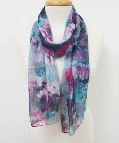 Look at this #zulilyfind! Light Gray Perfect Painting Scarf by Veond #zulilyfinds