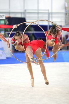 Rhythmic Gymnastics Team (UKR) from Belgrade 2009 Competition